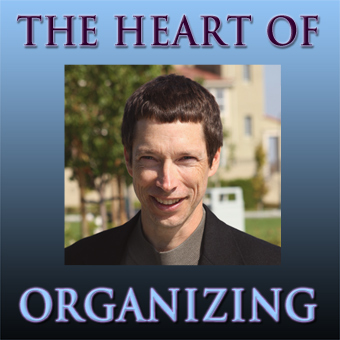 Heart of Organizing Icon